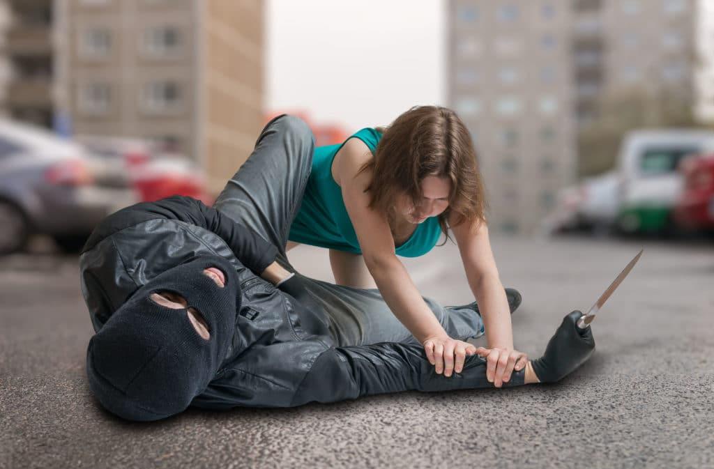 defenderse en la calle