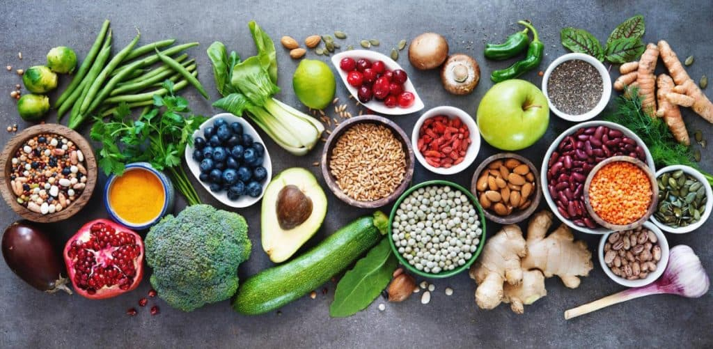 natural foods for fighters